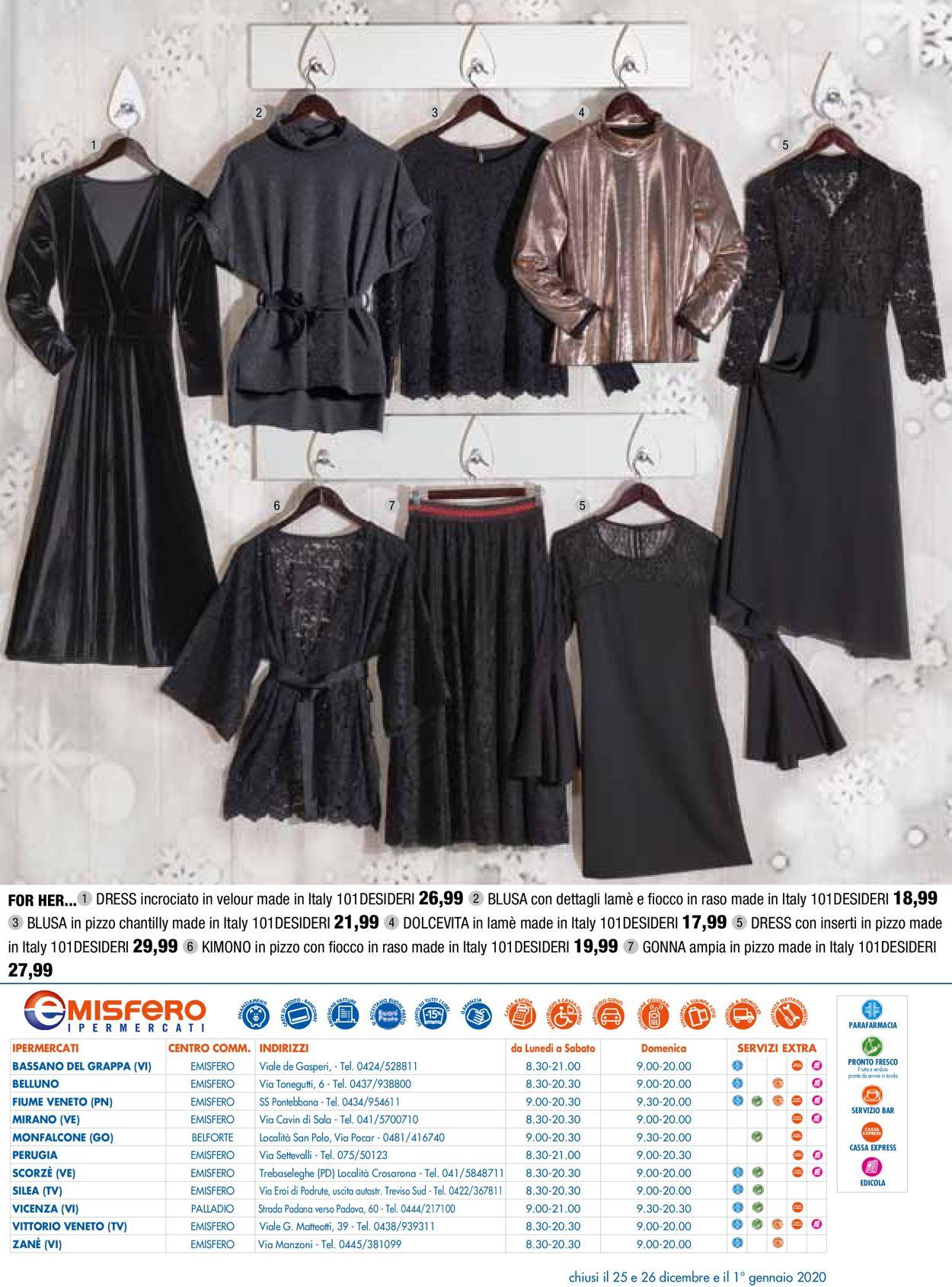 Volantino Il volantino natalizio di Emisfero - Offerte 14/11-24/12/2019 (Pagina 28)