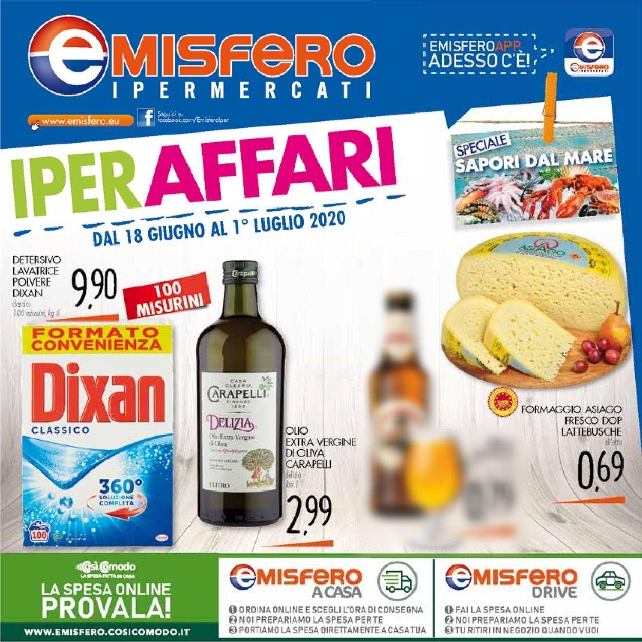 Volantino Emisfero - Offerte 18/06-01/07/2020