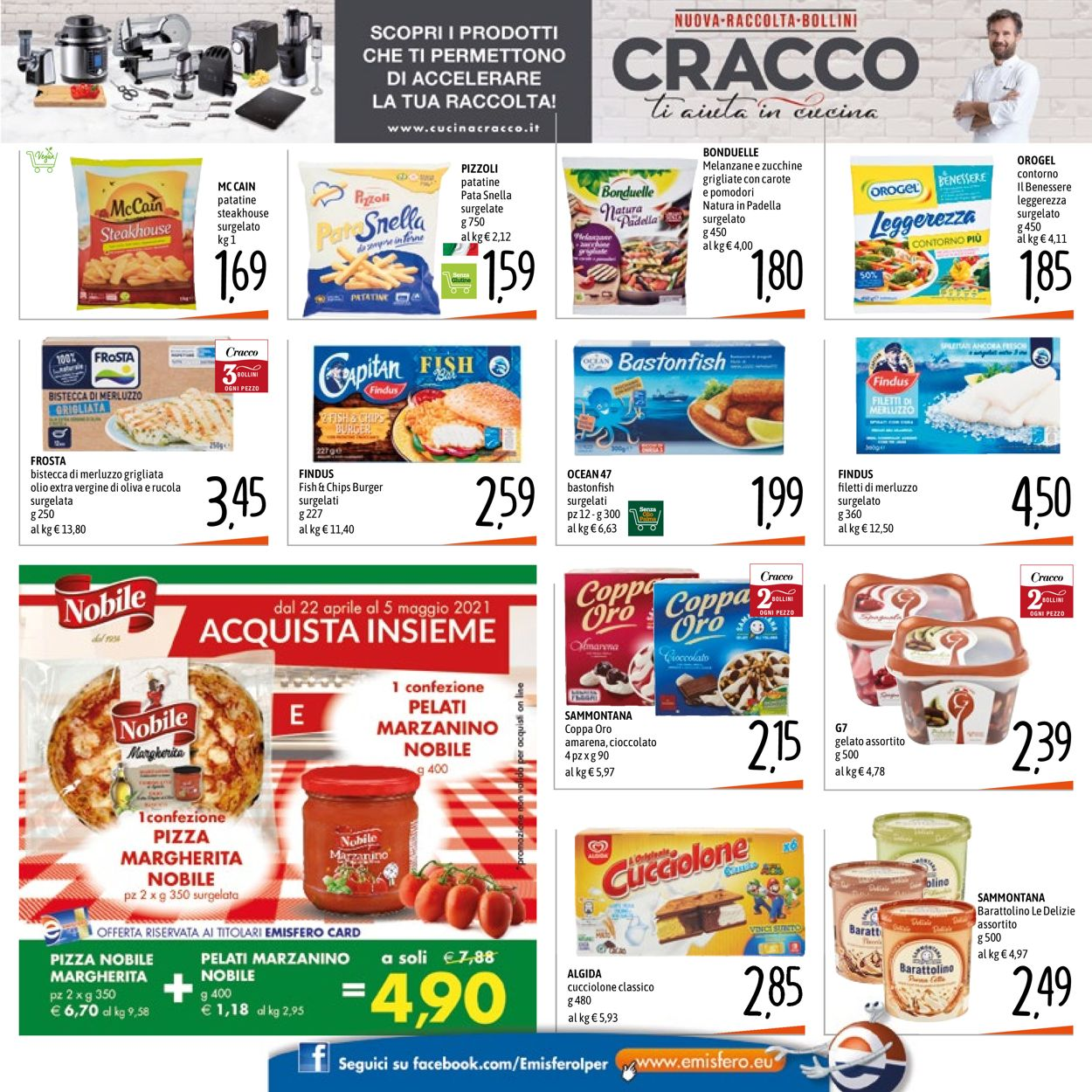 Volantino Emisfero - Offerte 22/04-05/05/2021 (Pagina 21)
