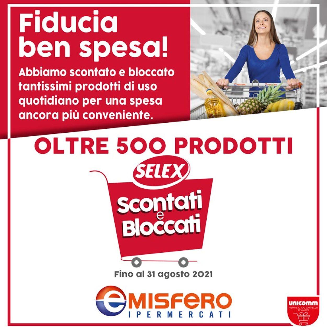 Volantino Emisfero - Offerte 01/05-31/08/2021