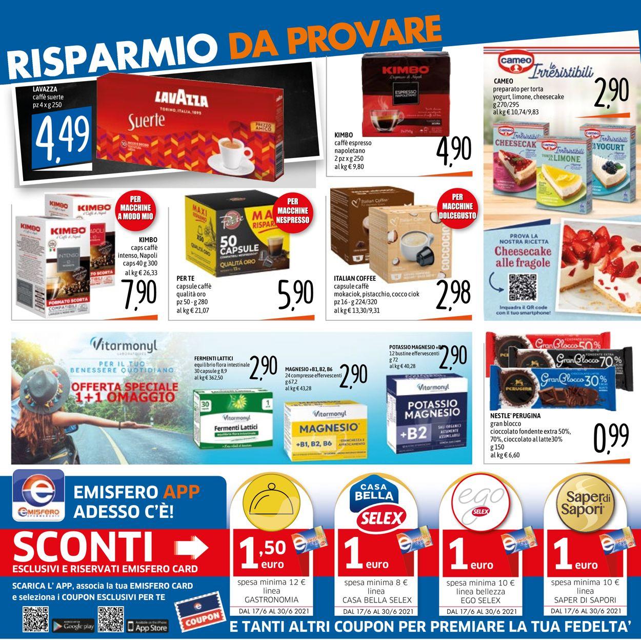 Volantino Emisfero - Offerte 17/06-30/06/2021 (Pagina 9)