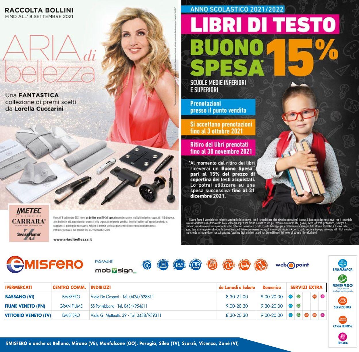 Volantino Emisfero - Offerte 01/07-14/07/2021 (Pagina 40)