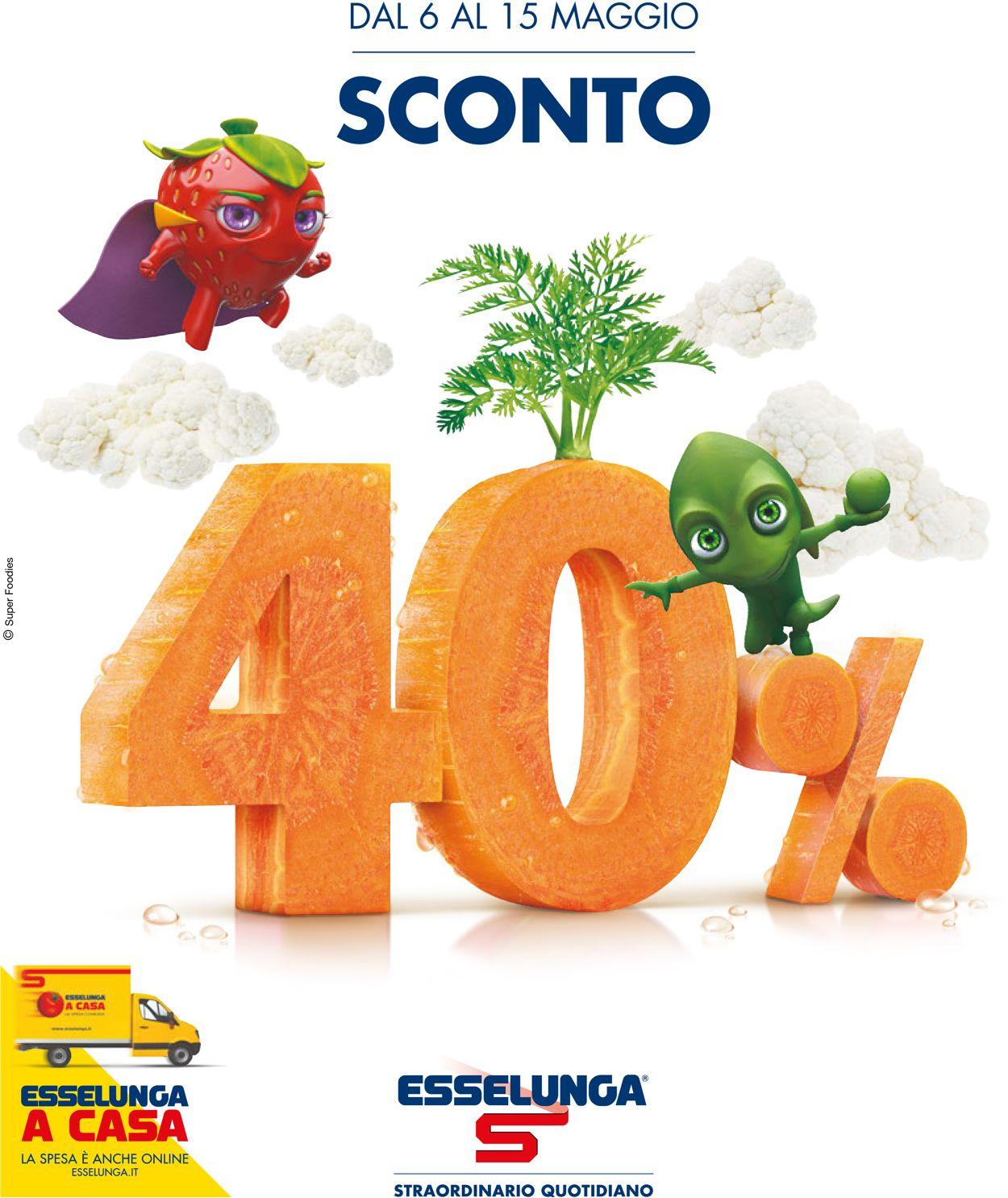 Volantino Esselunga - Offerte 06/05-15/05/2019