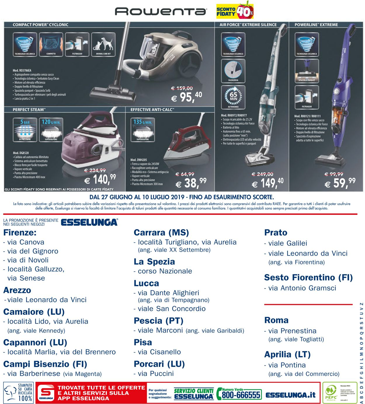 Volantino Esselunga - Offerte 27/06-10/07/2019 (Pagina 12)