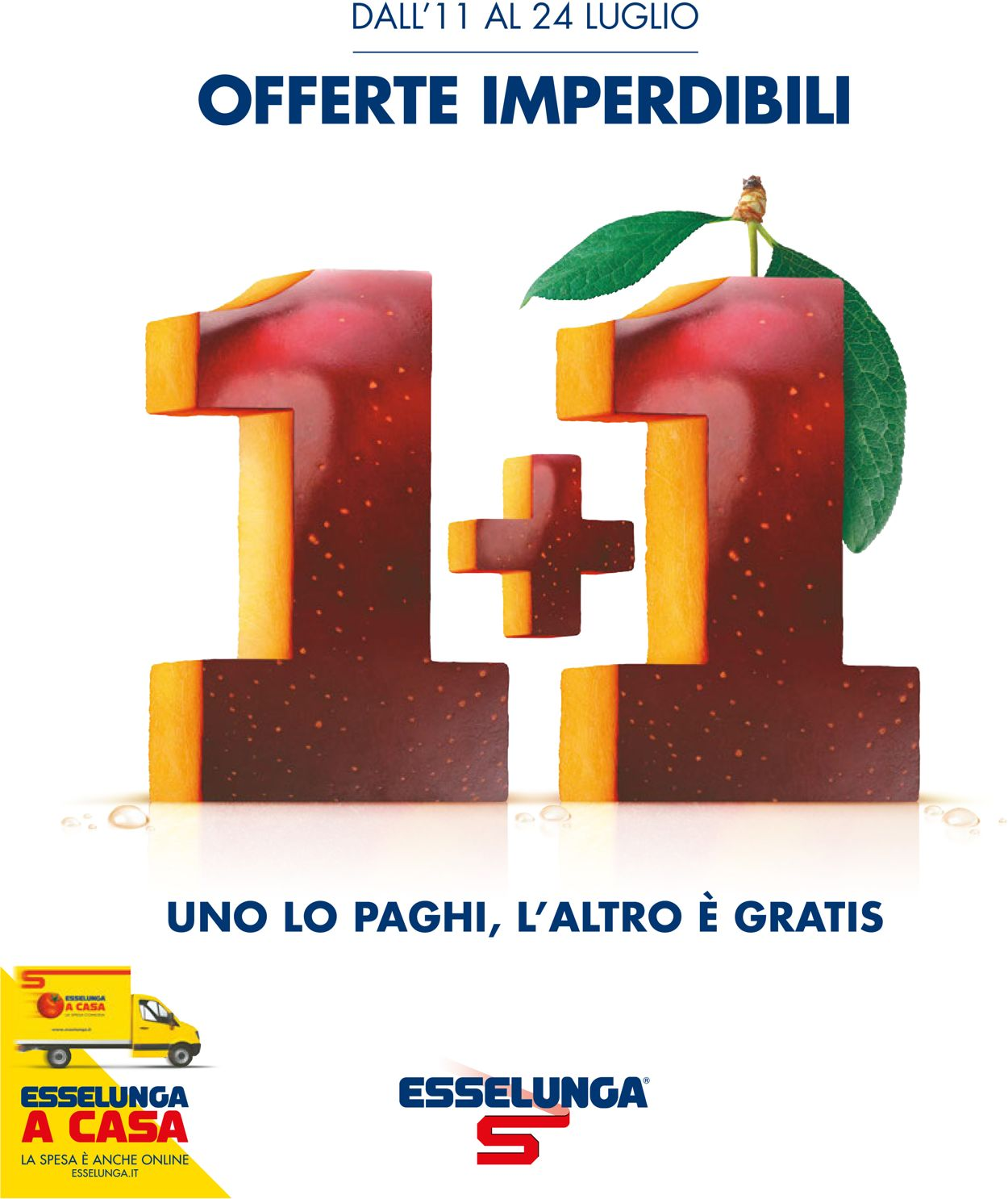 Volantino Esselunga - Offerte 11/07-24/07/2019