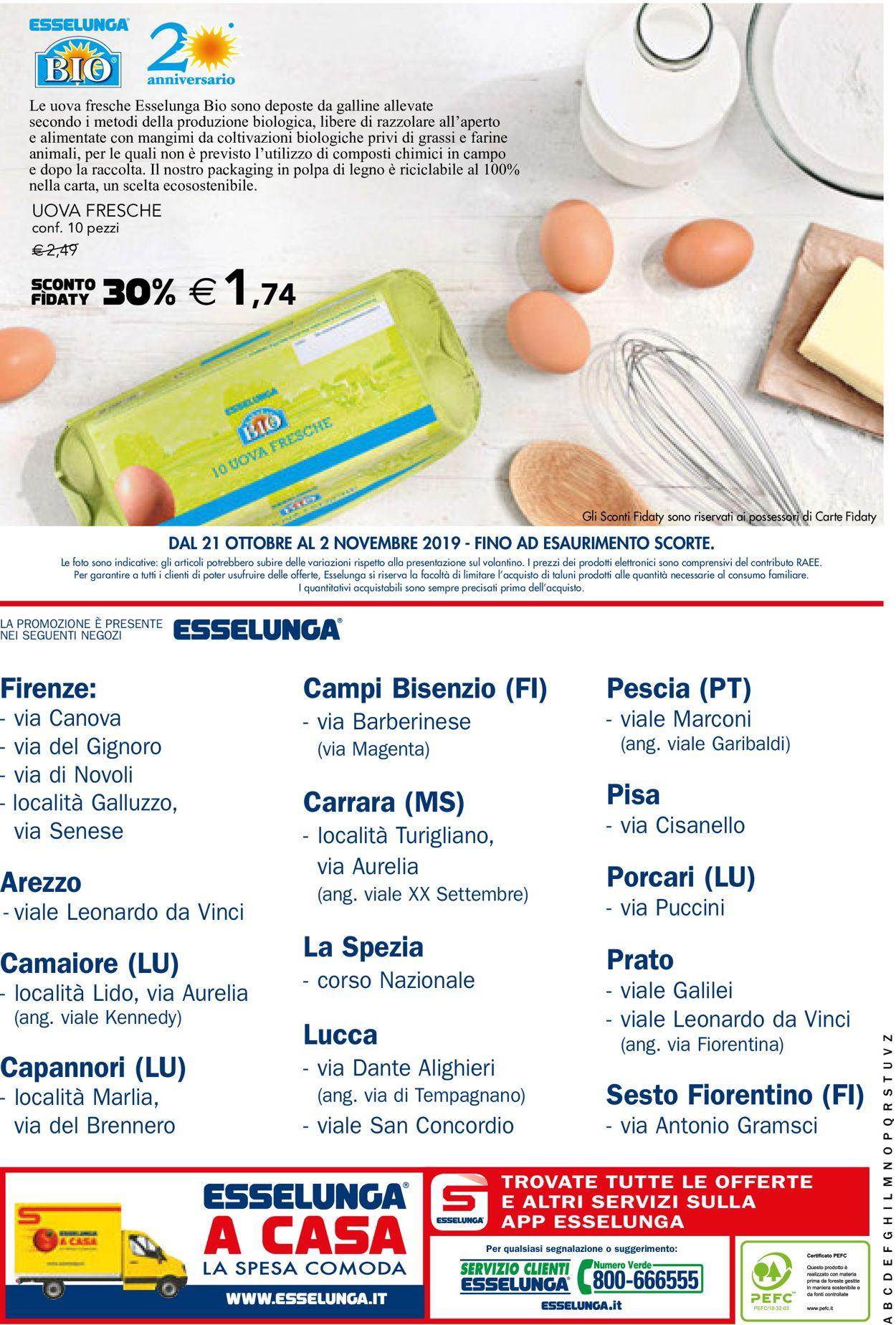 Volantino Esselunga - Offerte 21/10-02/11/2019 (Pagina 40)