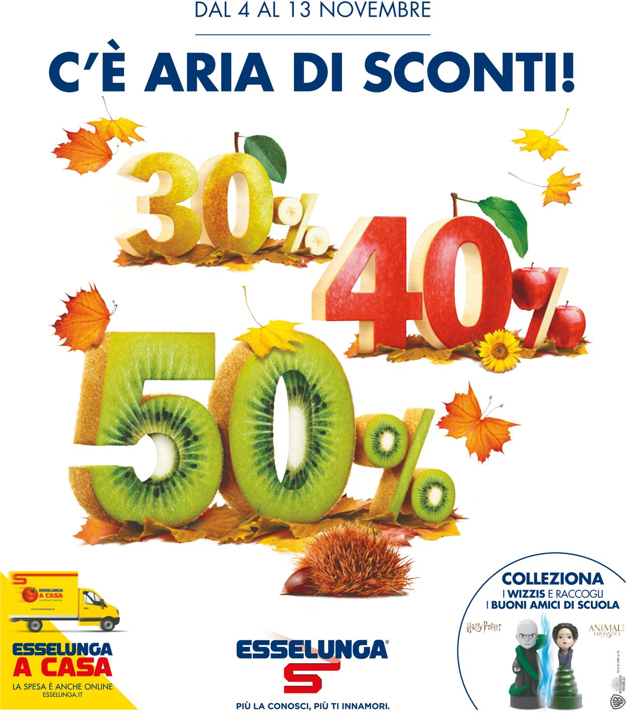Volantino Esselunga - Offerte 04/11-13/11/2019