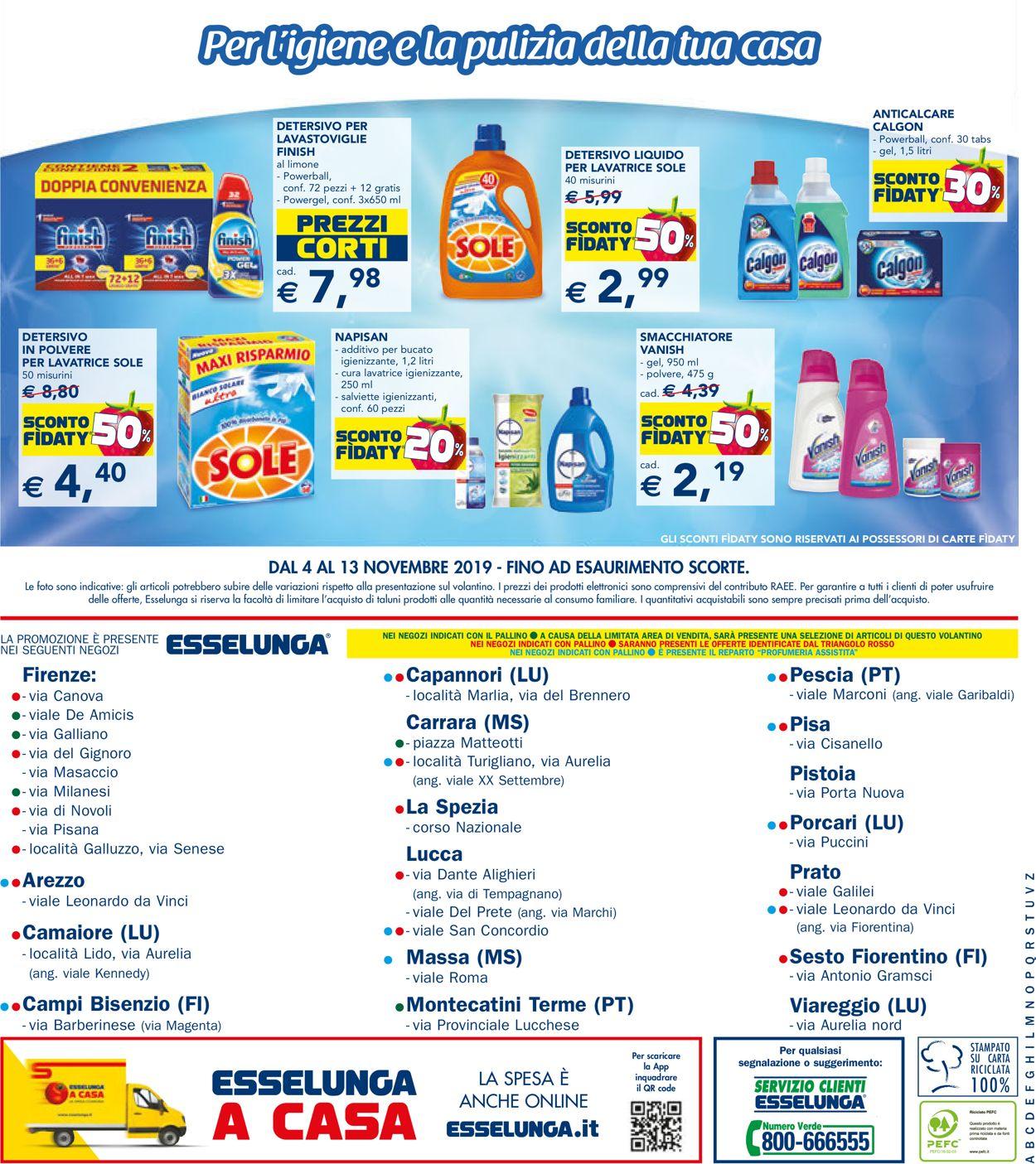 Volantino Esselunga - Offerte 04/11-13/11/2019 (Pagina 24)