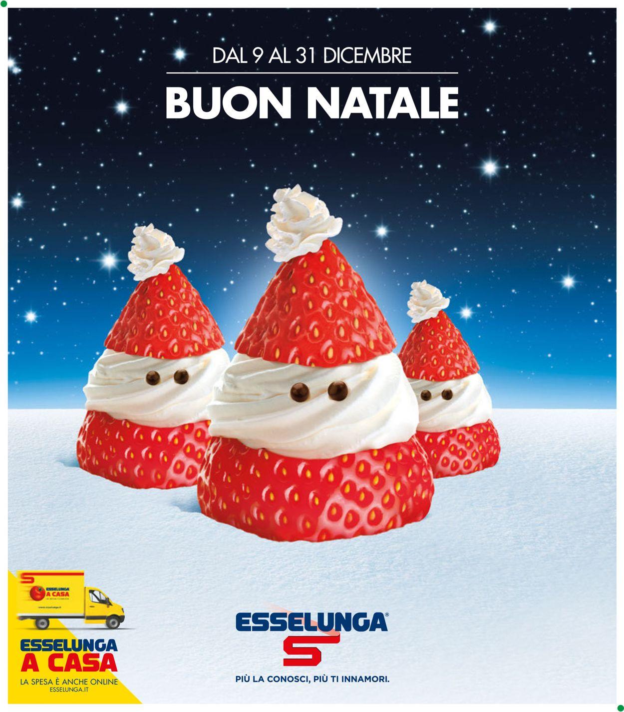 Volantino Il volantino natalizio di Esselunga - Offerte 09/12-31/12/2019