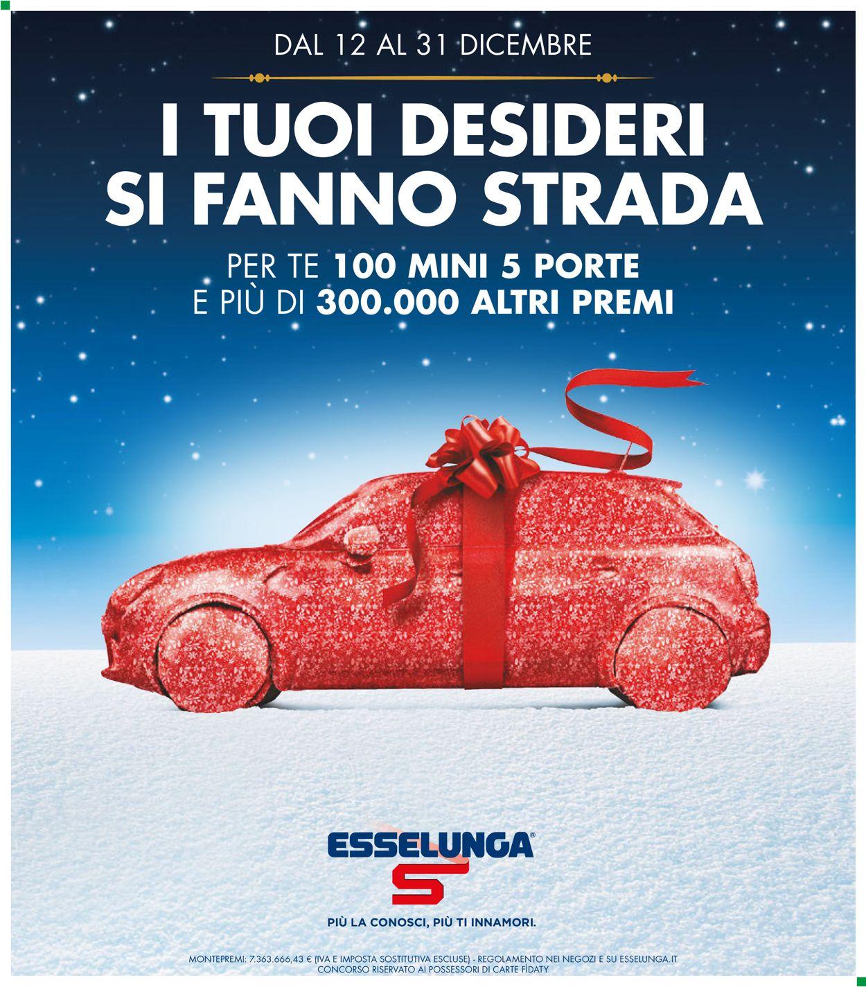 Volantino Il volantino natalizio di Esselunga - Offerte 12/12-31/12/2019
