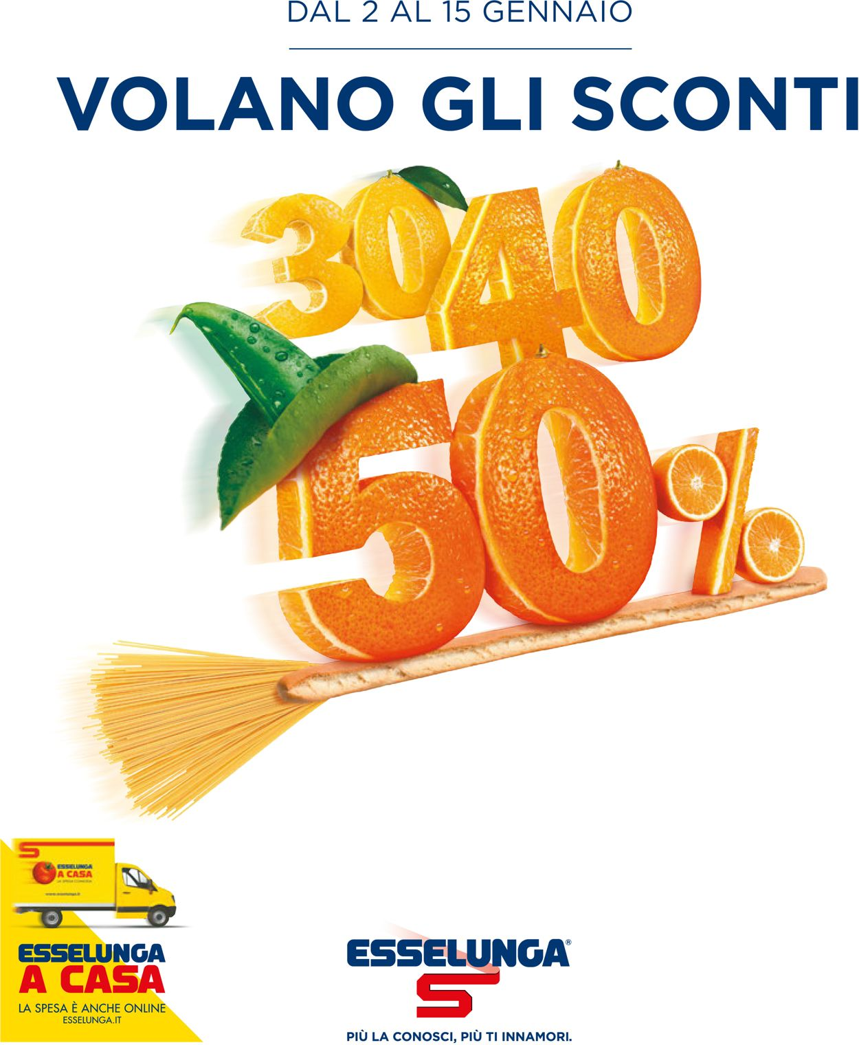 Volantino Esselunga - Offerte 02/01-15/01/2020