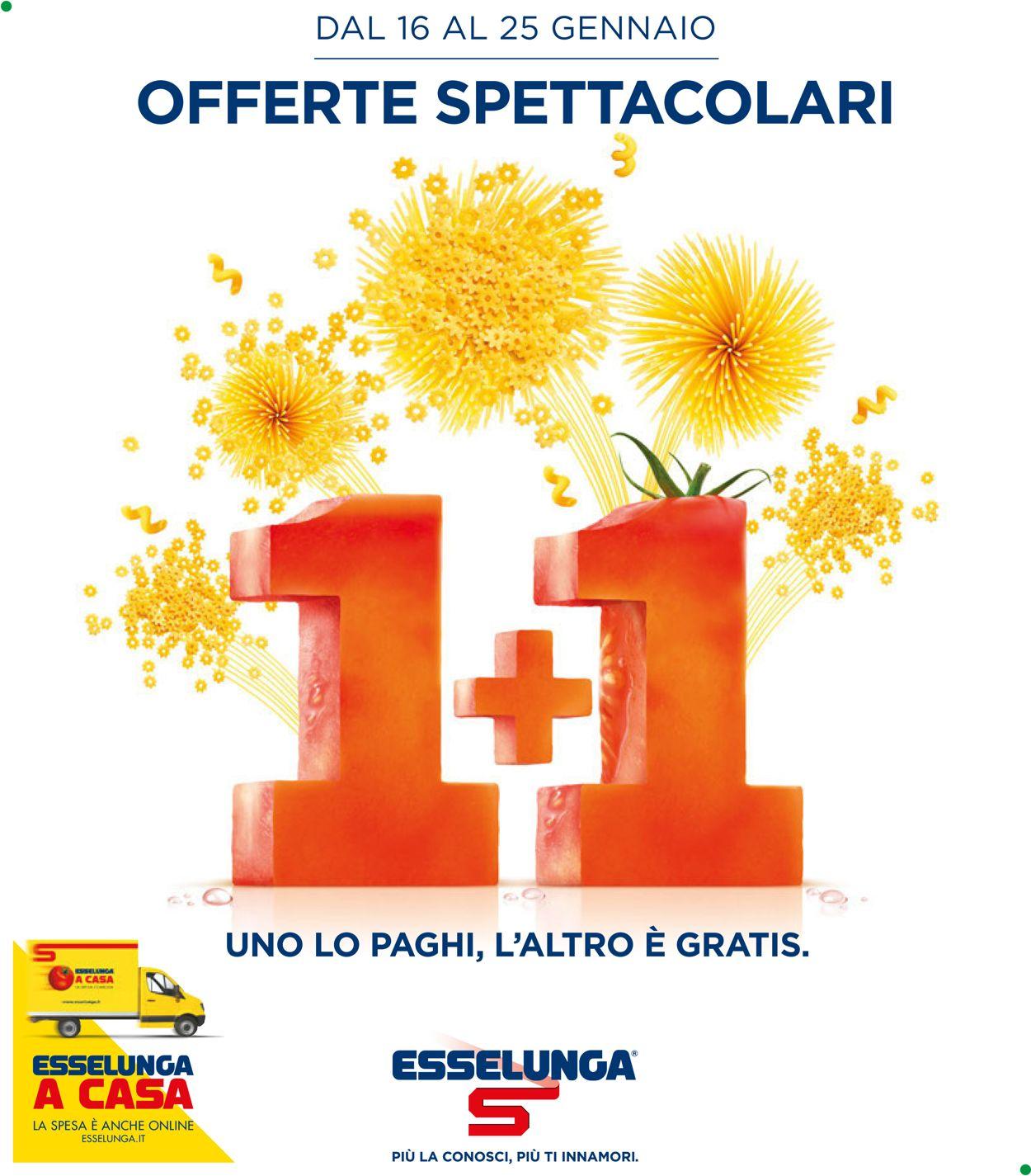 Volantino Esselunga - Offerte 16/01-25/01/2020