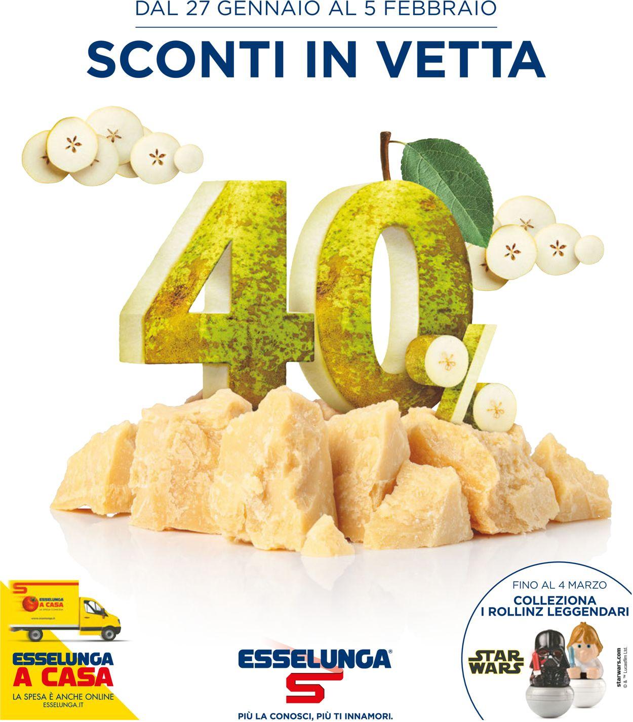 Volantino Esselunga - Offerte 27/01-05/02/2020
