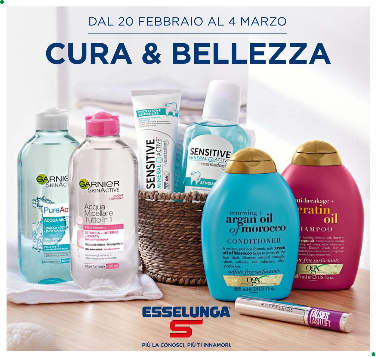 Volantino Esselunga - Offerte 20/02-04/03/2020