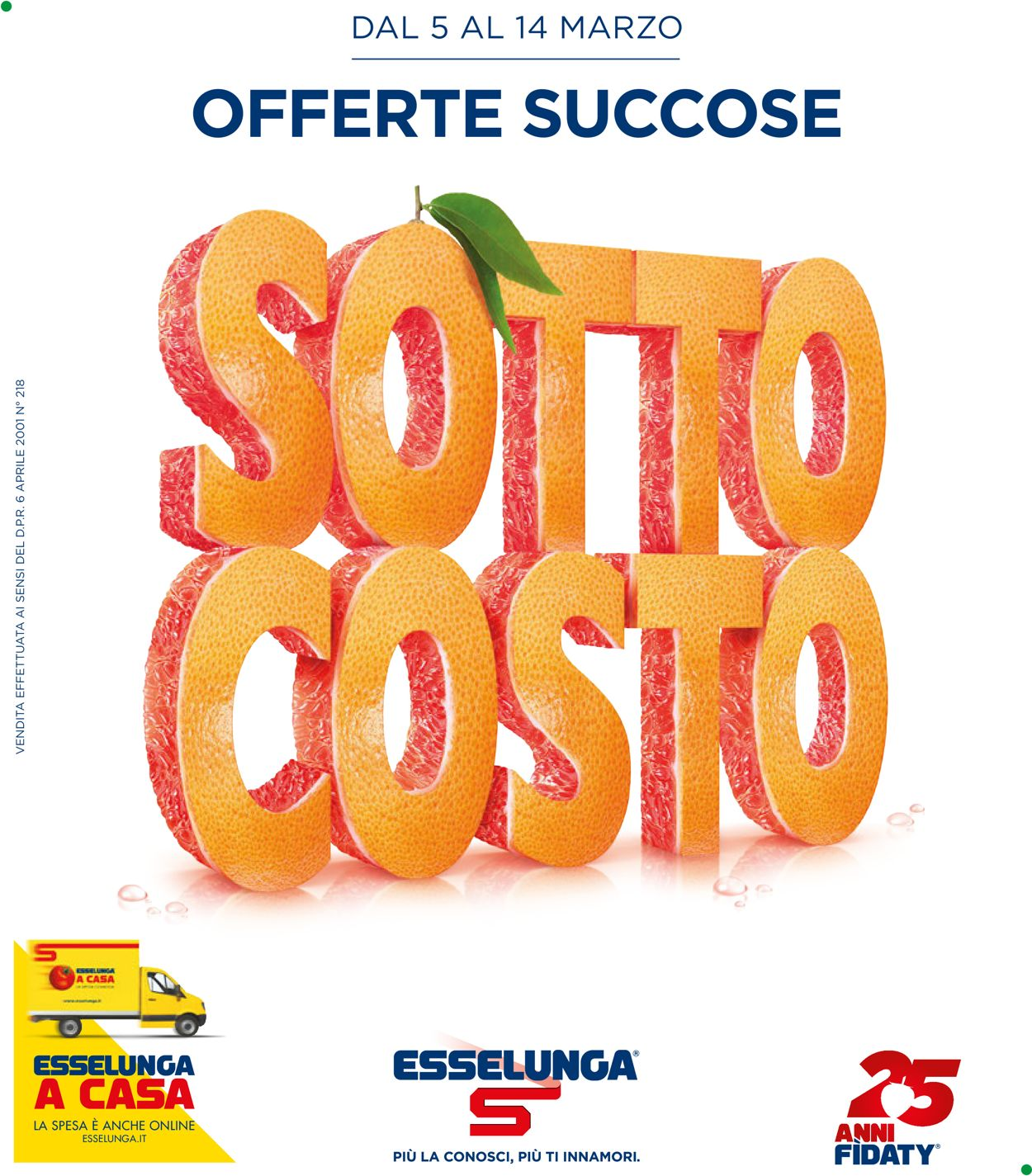 Volantino Esselunga - Offerte 05/03-14/03/2020