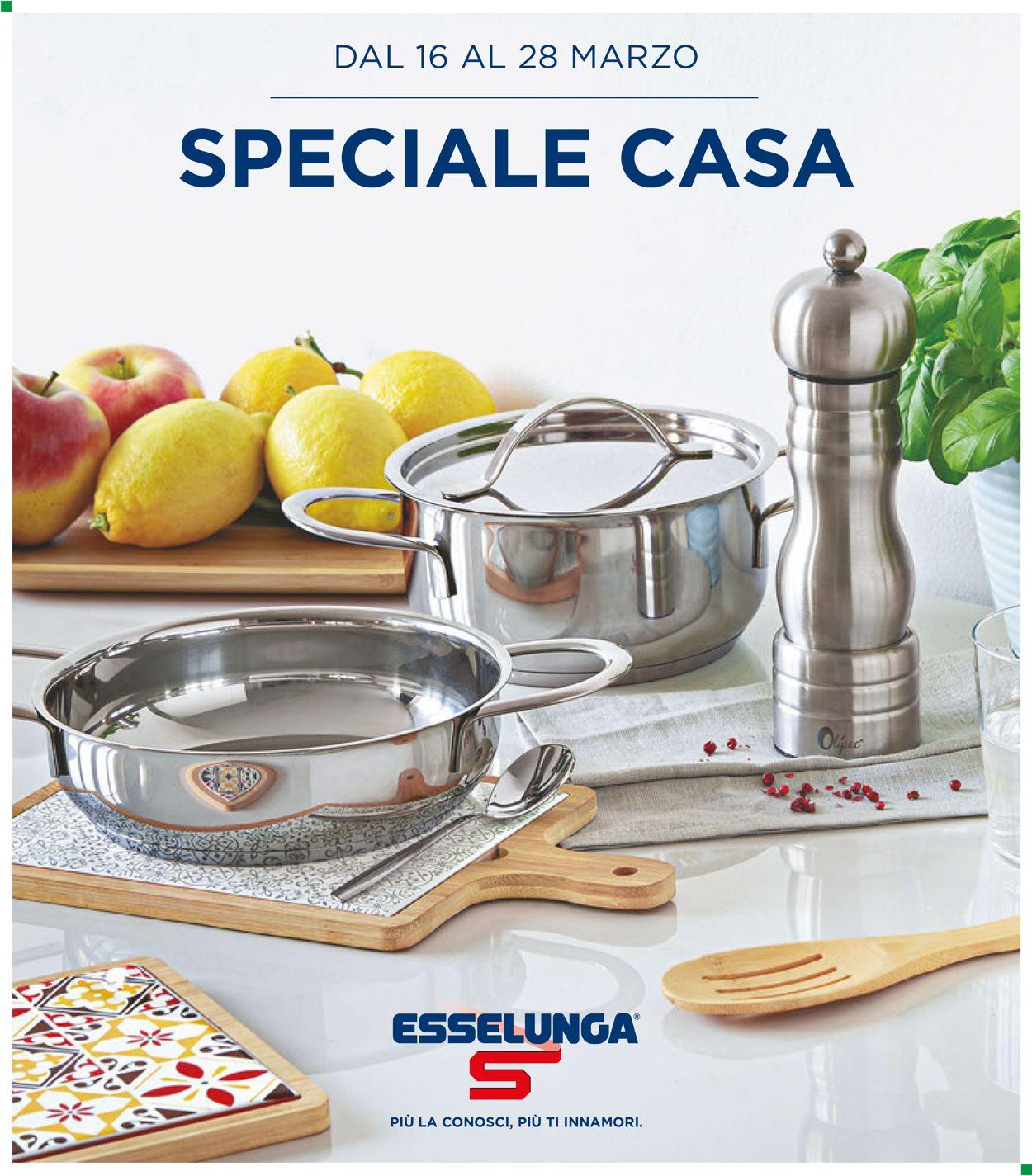 Volantino Esselunga - Offerte 16/03-28/03/2020