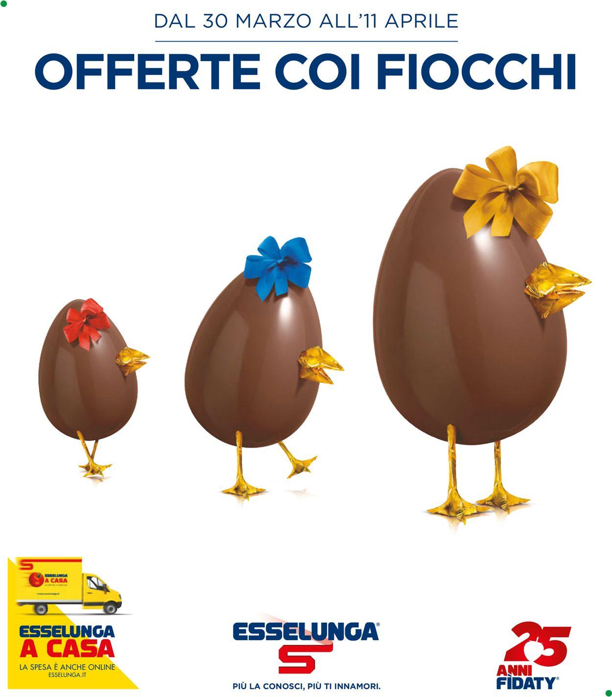 Volantino Esselunga - Offerte 30/03-11/04/2020