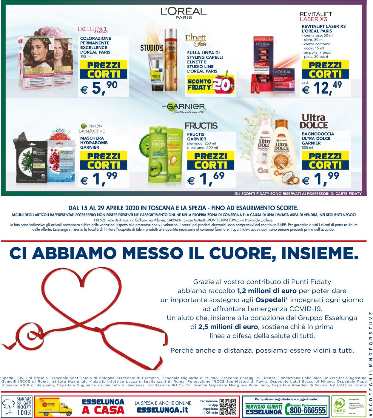 Volantino Esselunga - Offerte 15/04-29/04/2020 (Pagina 20)