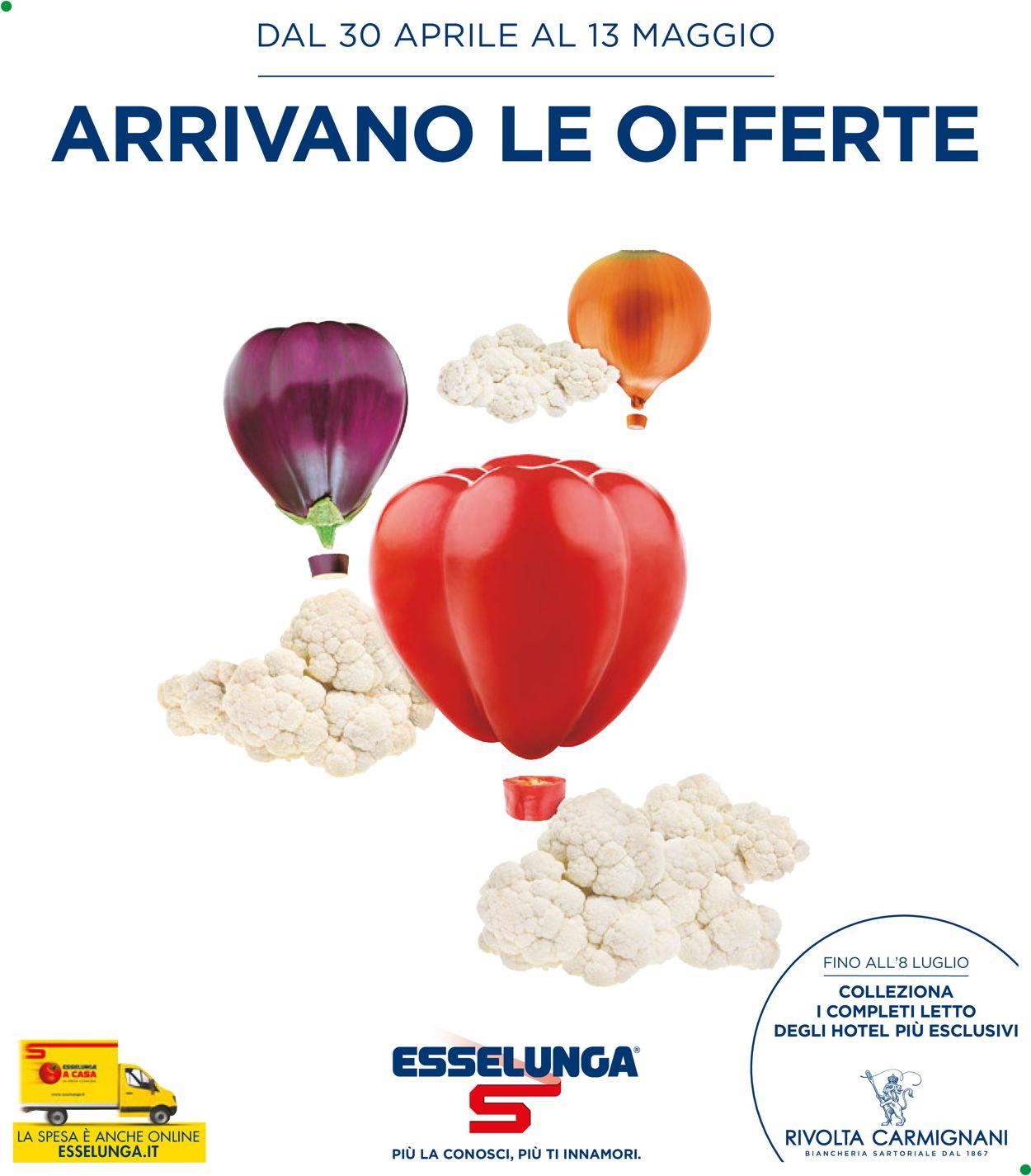 Volantino Esselunga - Offerte 30/04-13/05/2020