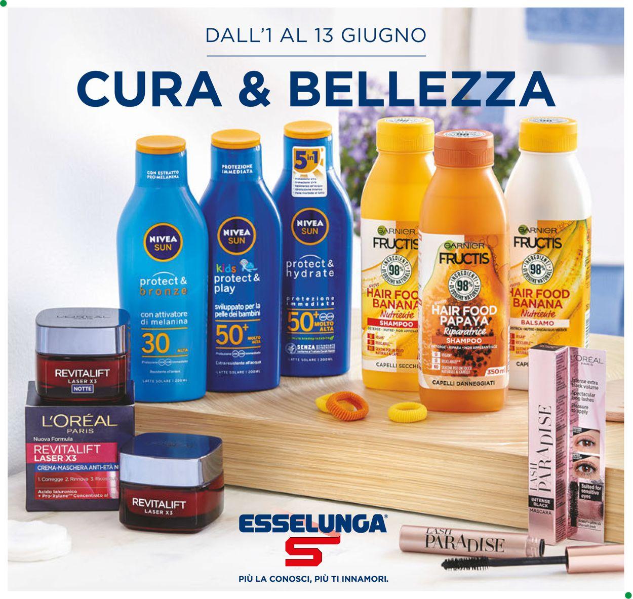 Volantino Esselunga - Offerte 01/06-13/06/2020