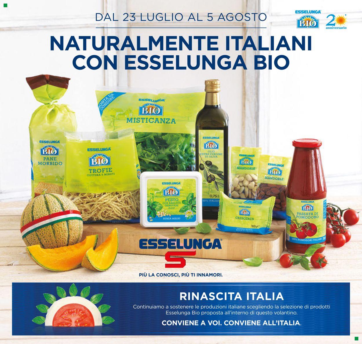 Volantino Esselunga - Offerte 23/07-05/08/2020