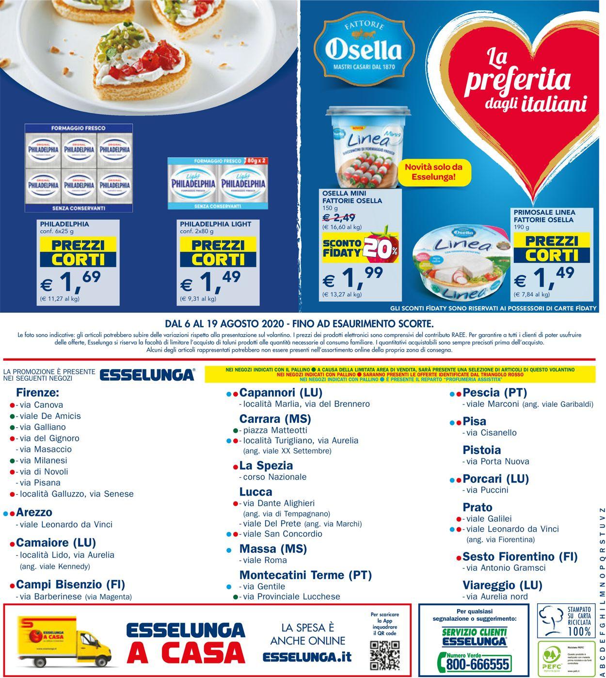 Volantino Esselunga - Offerte 06/08-19/08/2020 (Pagina 24)