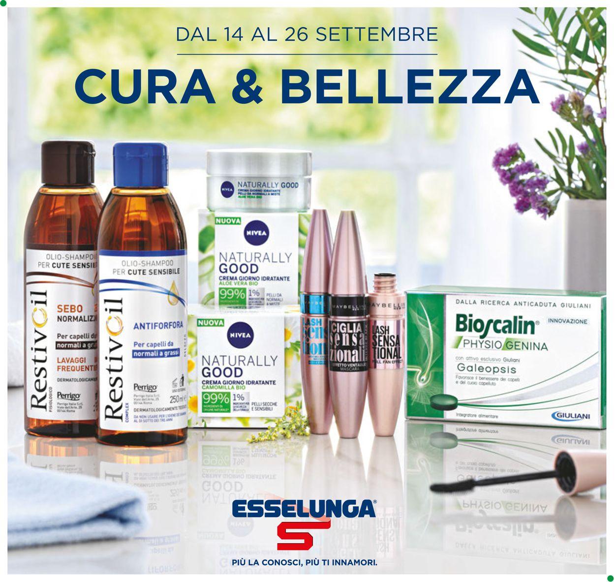 Volantino Esselunga - Offerte 14/09-26/09/2020