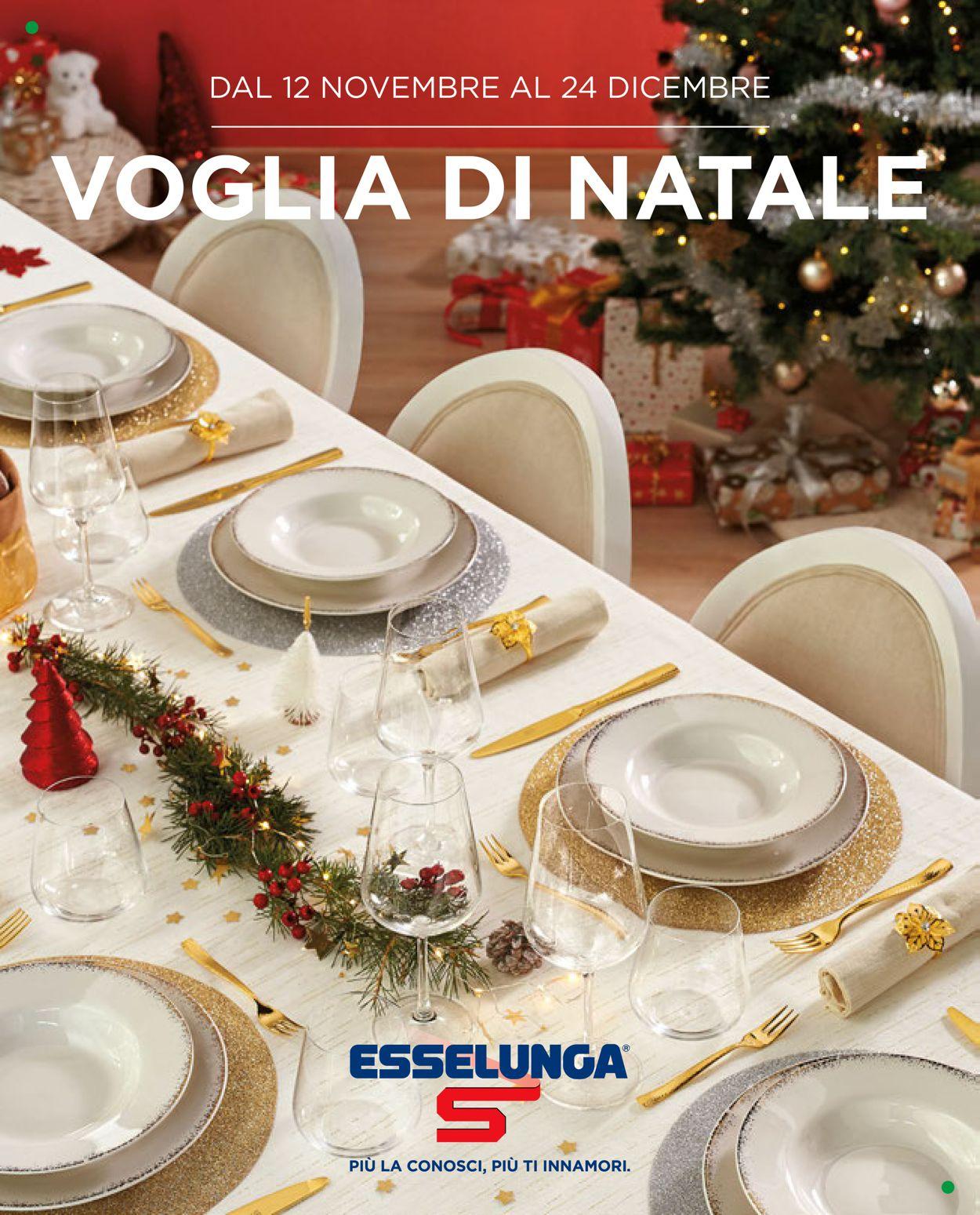Volantino Esselunga - Natale 2020 - Offerte 12/11-24/12/2020