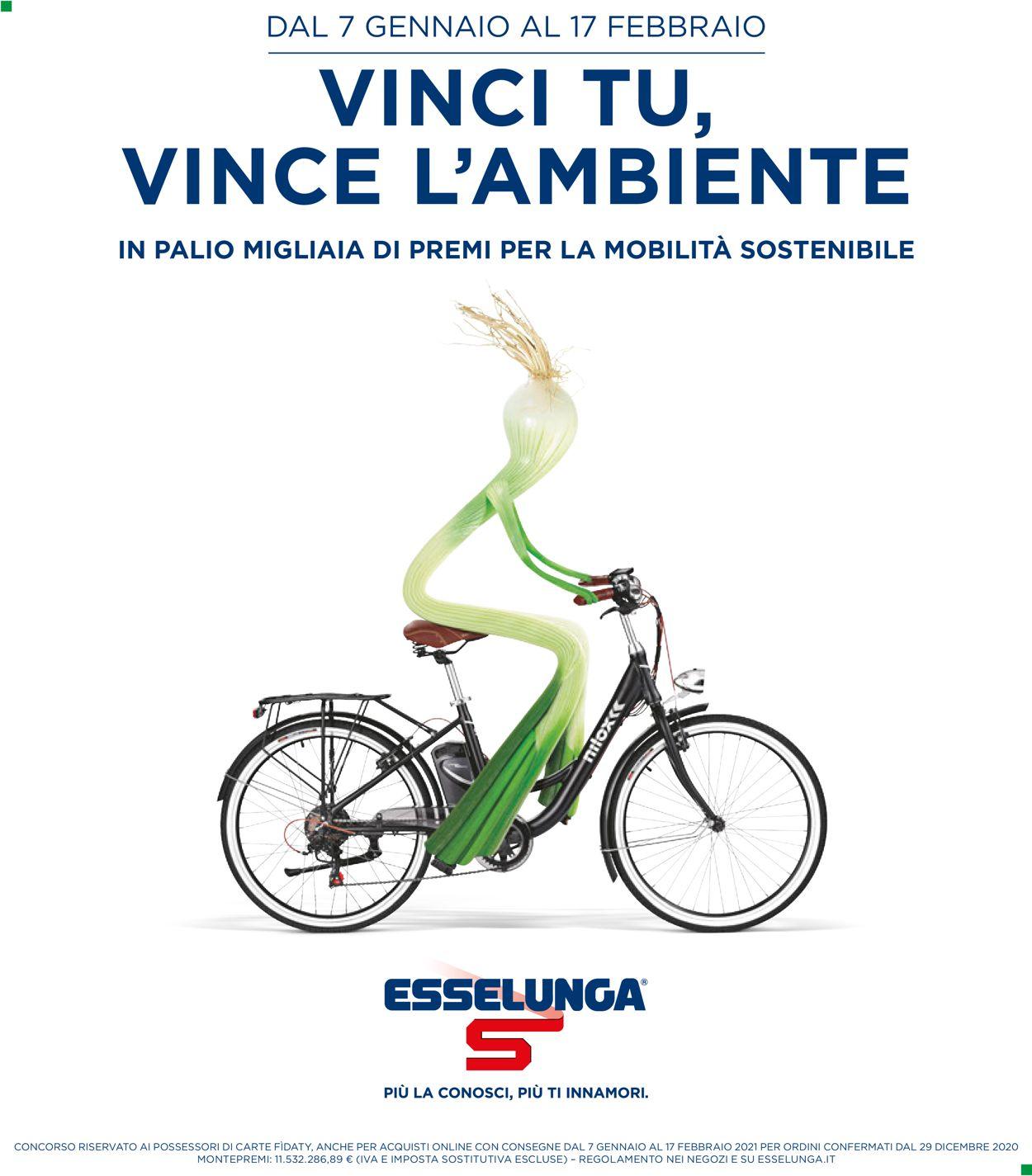 Volantino Esselunga - Offerte 07/01-17/02/2021