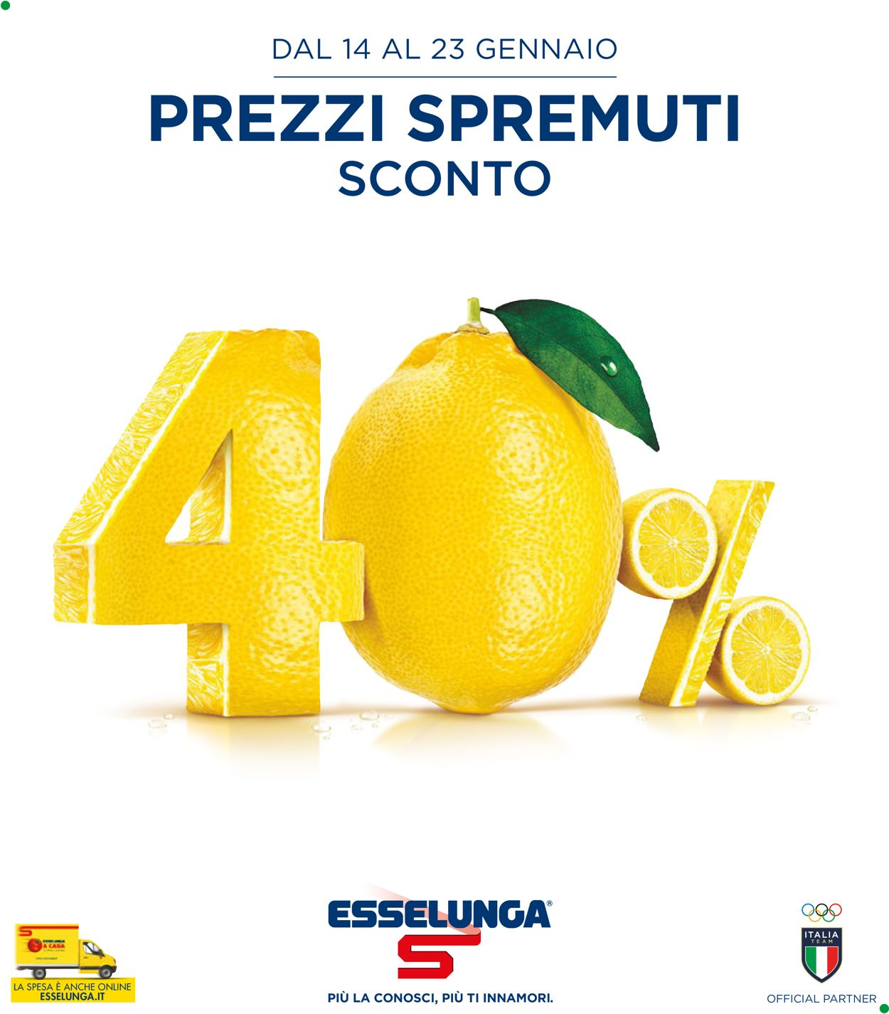 Volantino Esselunga - Offerte 14/01-23/01/2021