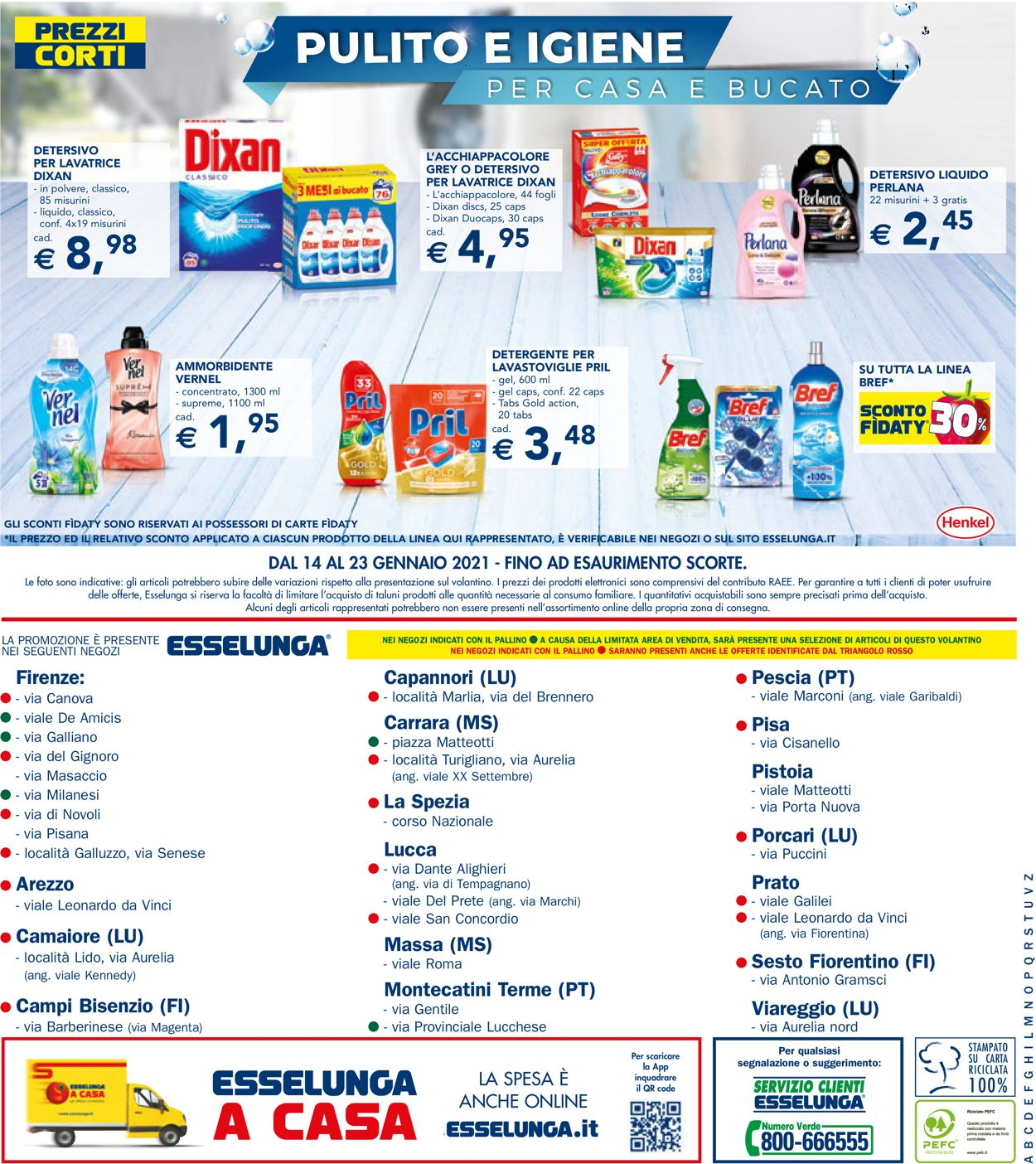 Volantino Esselunga - Offerte 14/01-23/01/2021 (Pagina 24)