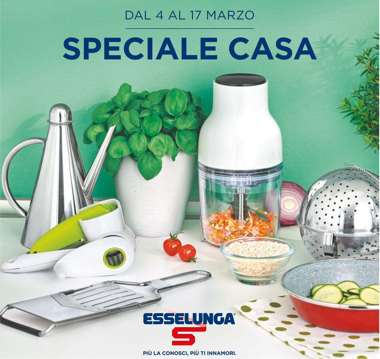 Volantino Esselunga - Offerte 04/03-17/03/2021