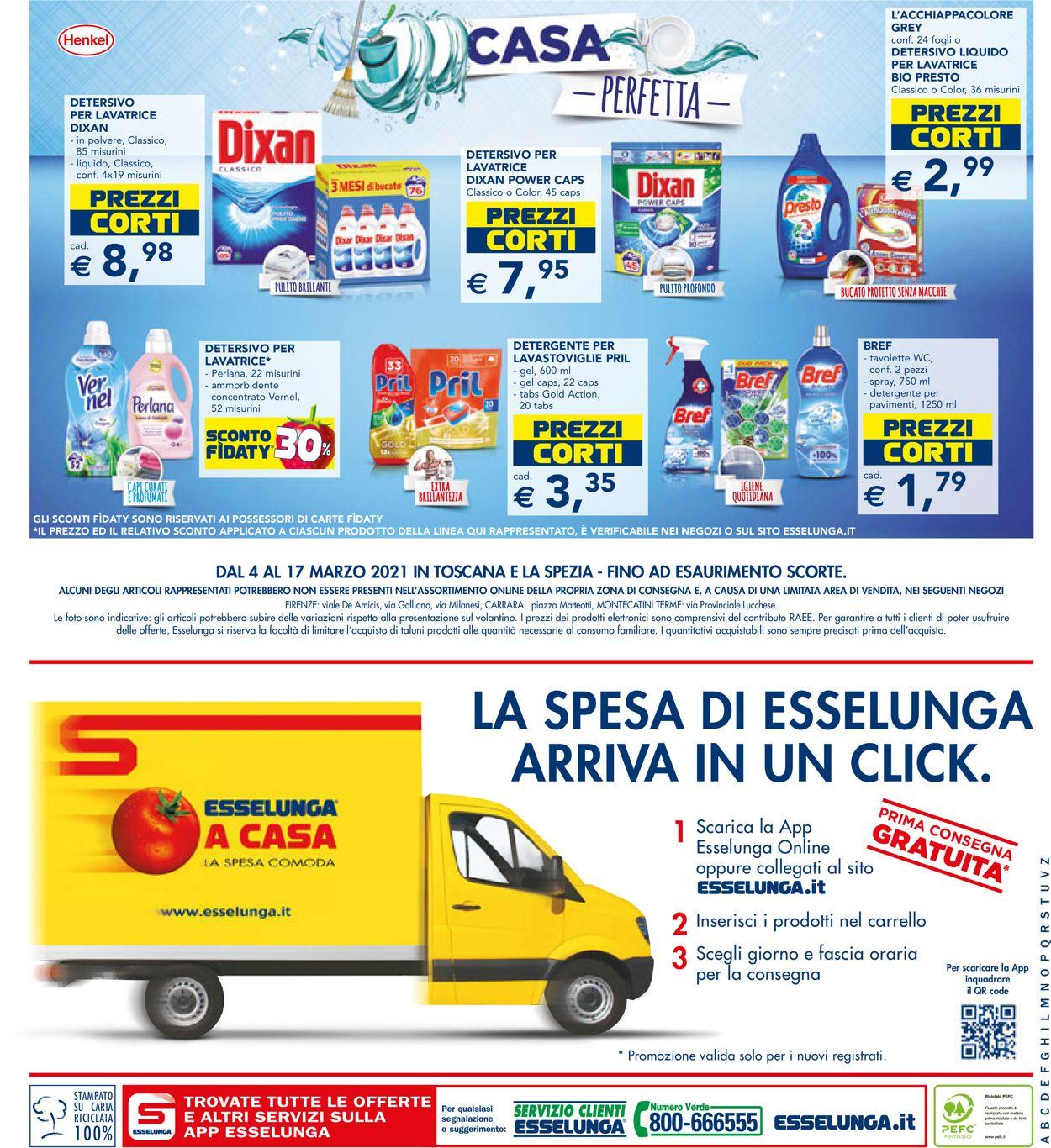 Volantino Esselunga - Offerte 04/03-17/03/2021 (Pagina 24)