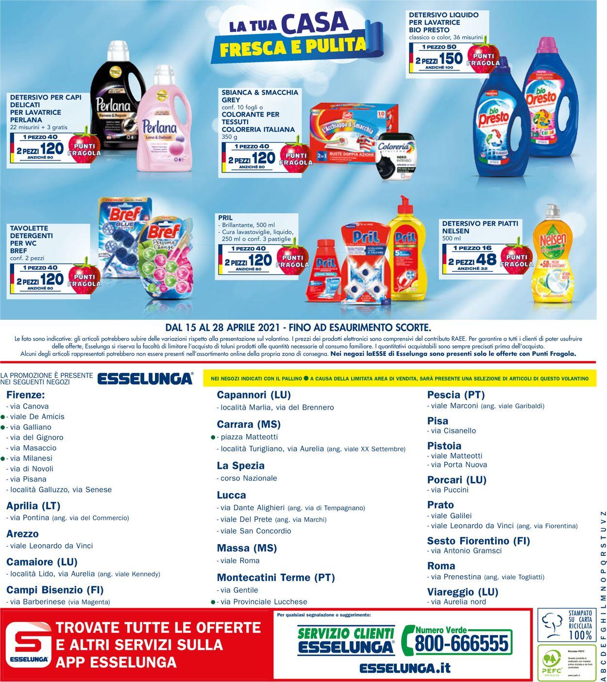 Volantino Esselunga - Offerte 15/04-09/06/2021 (Pagina 12)