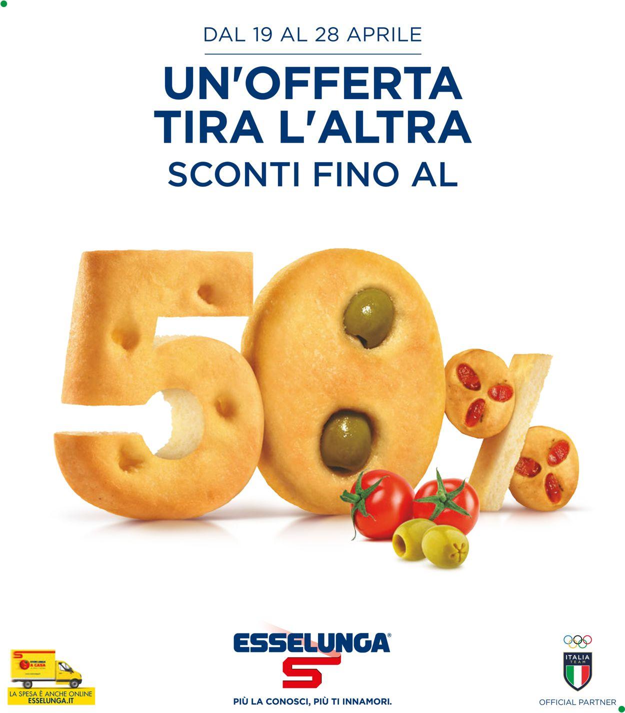 Volantino Esselunga - Offerte 19/04-28/04/2021