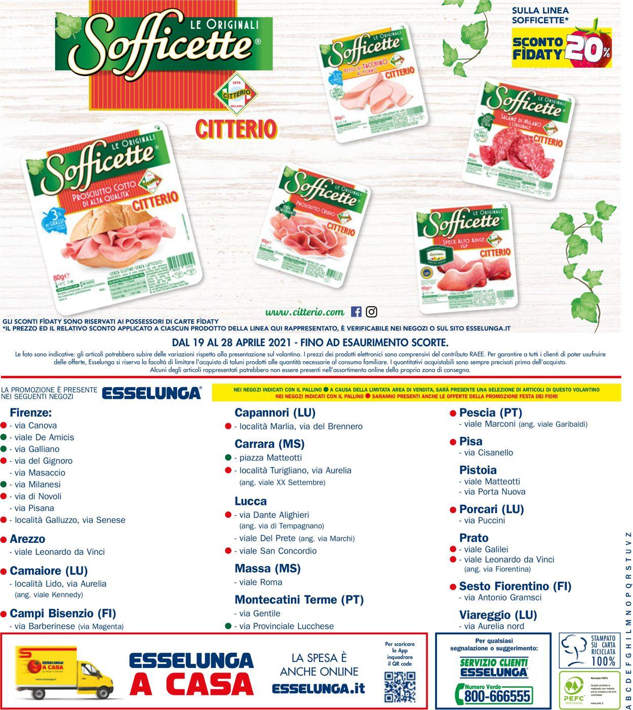 Volantino Esselunga - Offerte 19/04-28/04/2021 (Pagina 20)