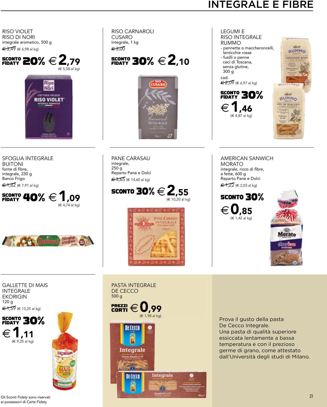 Volantino Esselunga - Offerte 13/05-26/05/2021 (Pagina 21)
