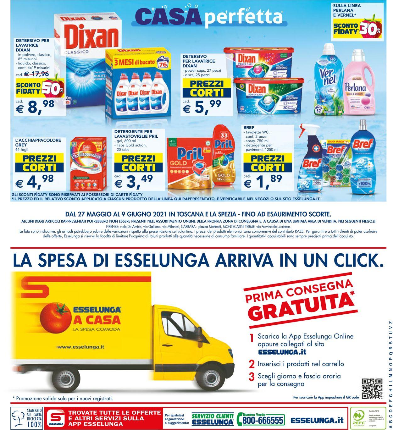Volantino Esselunga - Offerte 27/05-09/06/2021 (Pagina 24)
