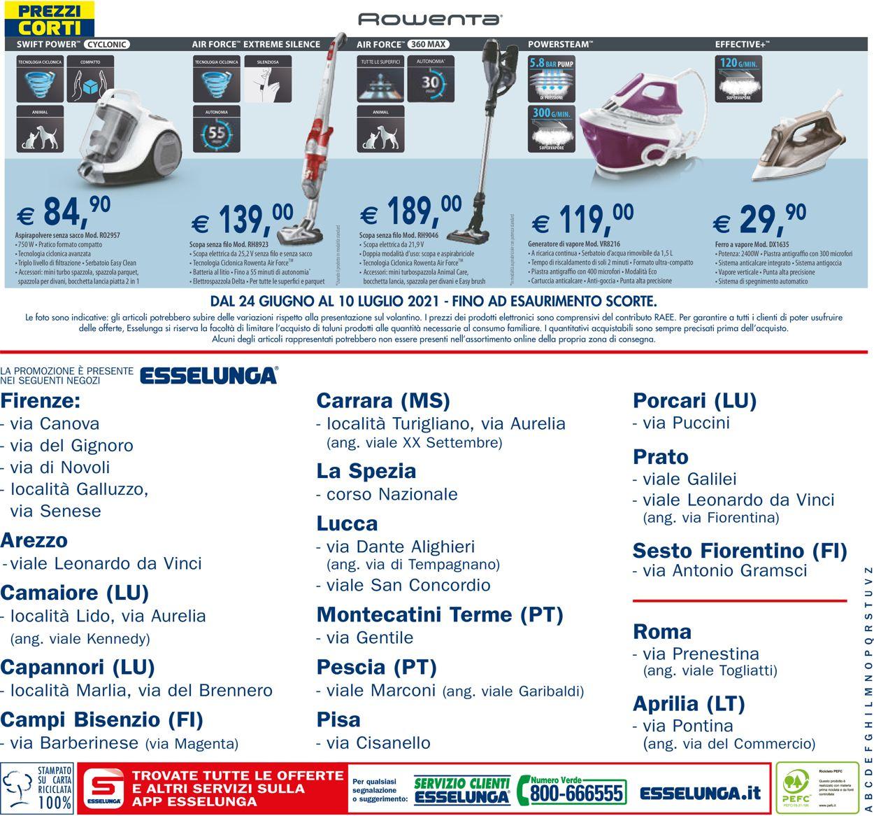 Volantino Esselunga - Offerte 24/06-10/07/2021 (Pagina 16)