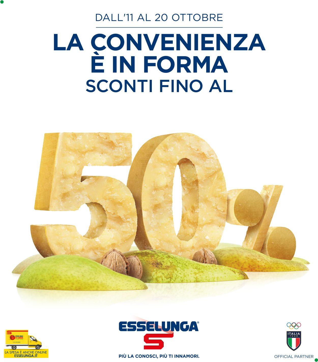 Volantino Esselunga - Offerte 11/10-20/10/2021