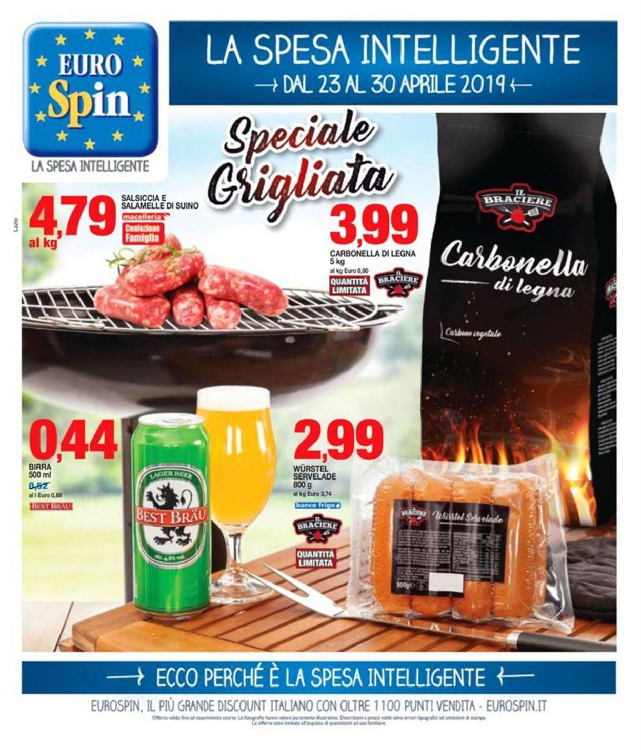 Volantino EURO Spin - Offerte 23/04-30/04/2019
