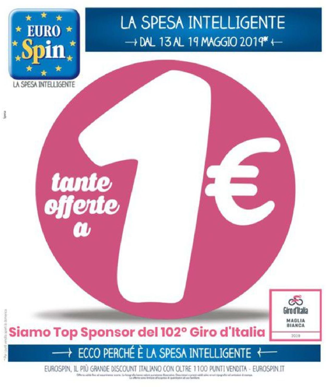 Volantino EURO Spin - Offerte 13/05-19/05/2019