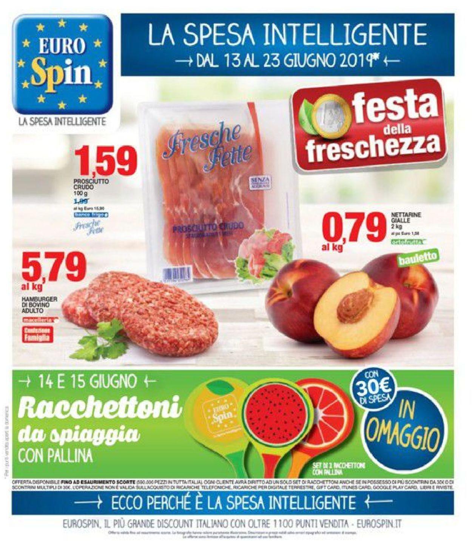Volantino EURO Spin - Offerte 13/06-23/06/2019