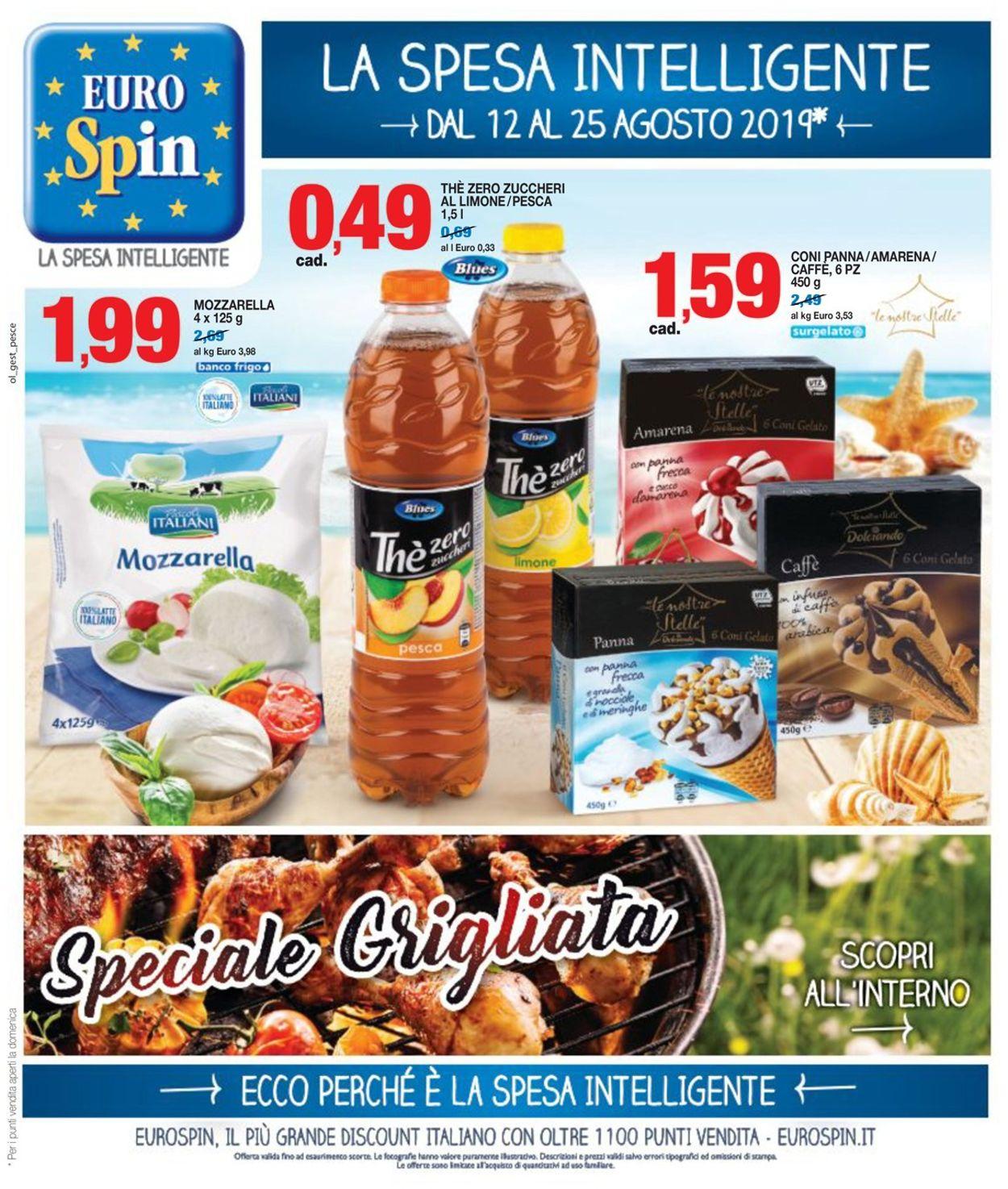 Volantino EURO Spin - Offerte 12/08-25/08/2019