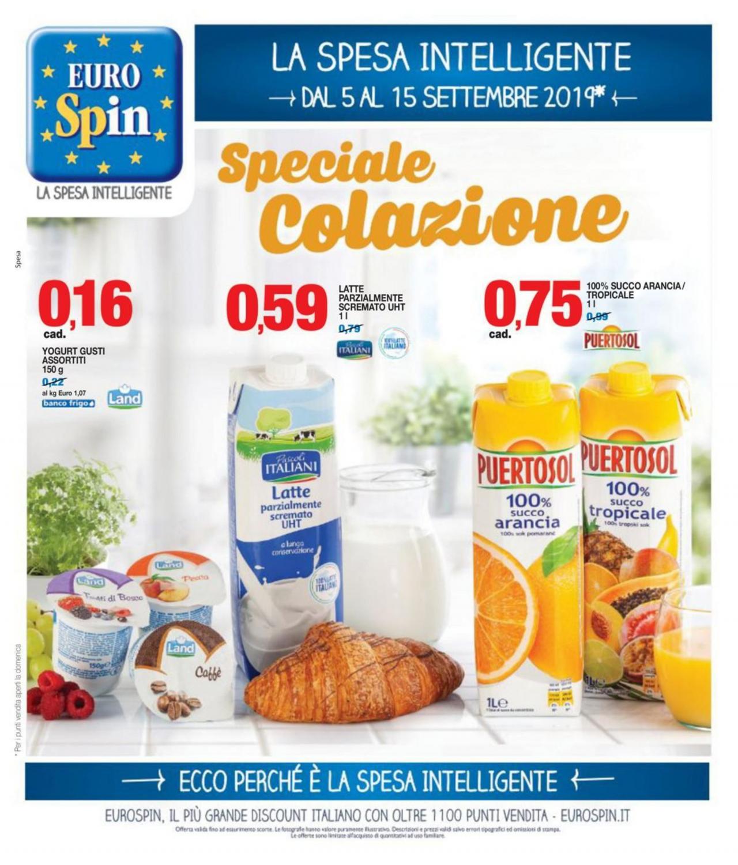 Volantino EURO Spin - Offerte 05/09-15/09/2019