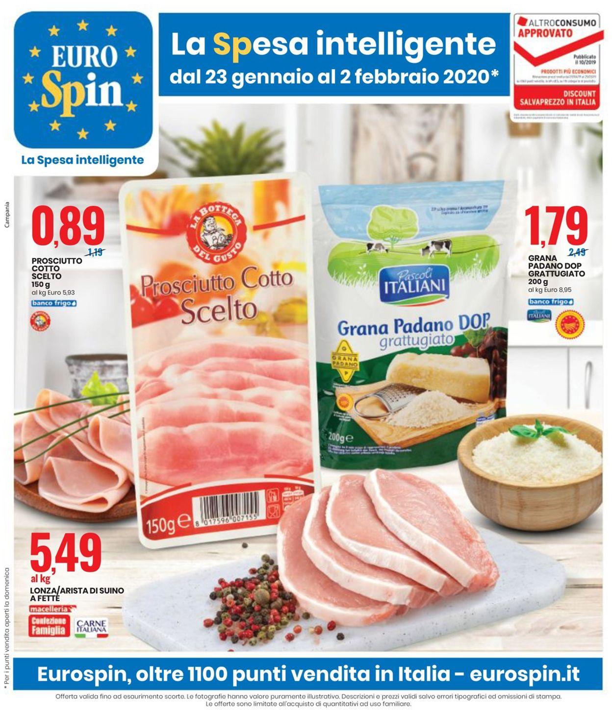 Volantino EURO Spin - Offerte 23/01-02/02/2020