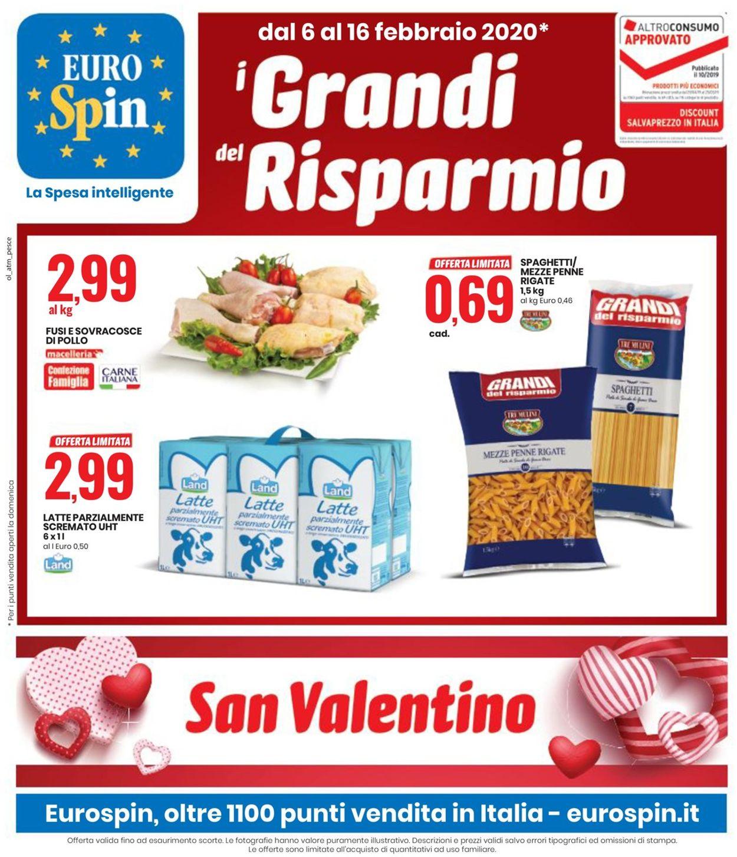 Volantino EURO Spin - Offerte 06/02-16/02/2020