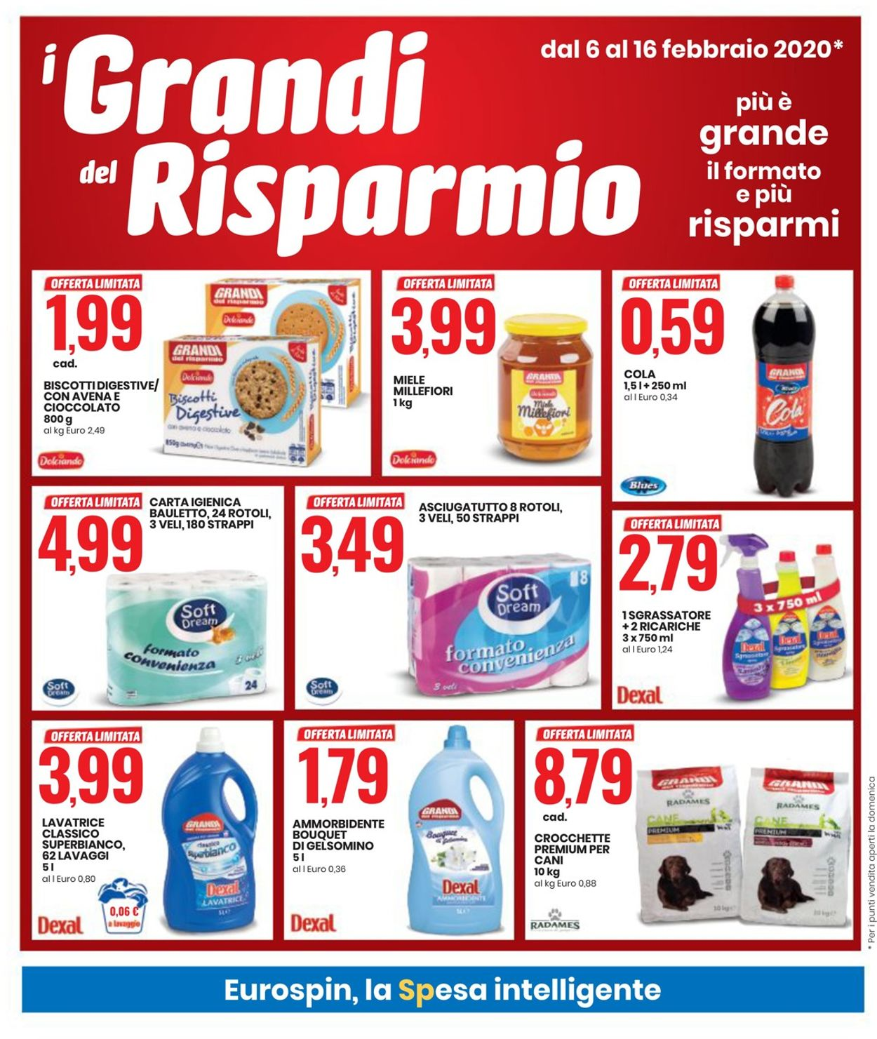 Volantino EURO Spin - Offerte 06/02-16/02/2020 (Pagina 4)