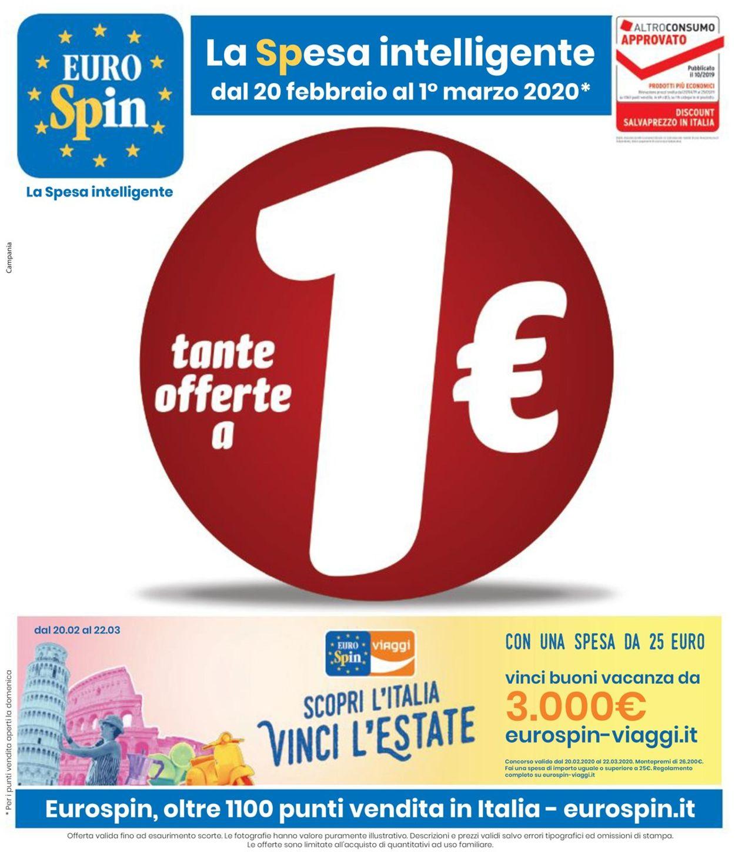Volantino EURO Spin - Offerte 20/02-01/03/2020