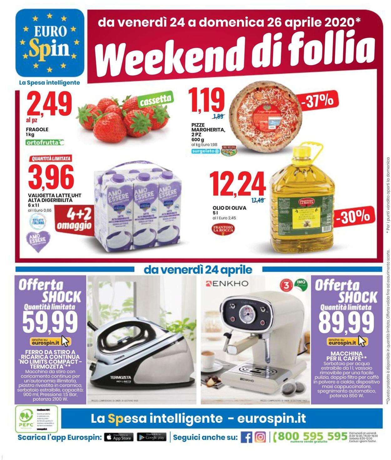 Volantino EURO Spin - Offerte 14/04-26/04/2020 (Pagina 20)
